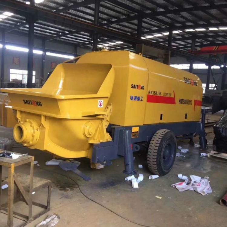 细石泵车直销 细石混凝土泵 小型混凝土搅拌输送泵