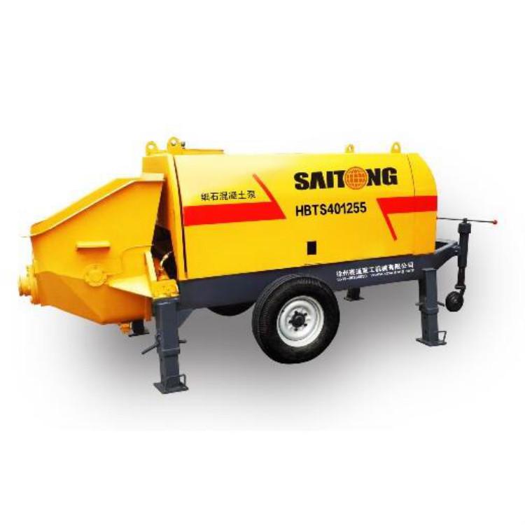 细石泵车厂家 混凝土搅拌站 细石砂浆泵 双轴混凝土搅拌机