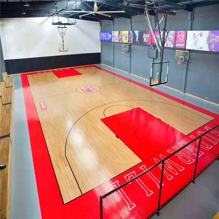 篮球馆木地板  篮球馆木地板直销